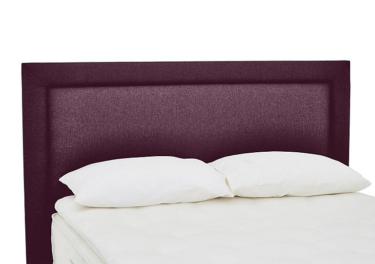 QEST Legacy Highgrove Headboard in Heather on FV