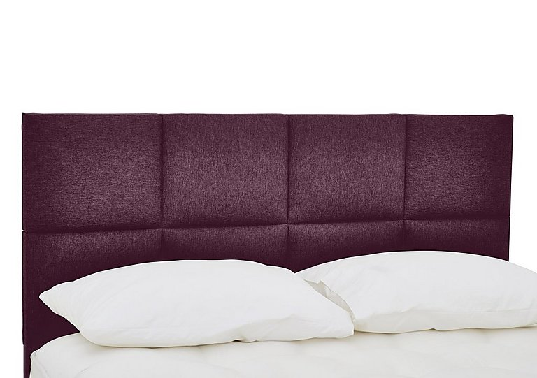 QEST Legacy Clarence Headboard in Heather on FV