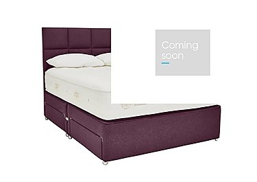 QEST Legacy 3600 Divan Set in Heather on FV