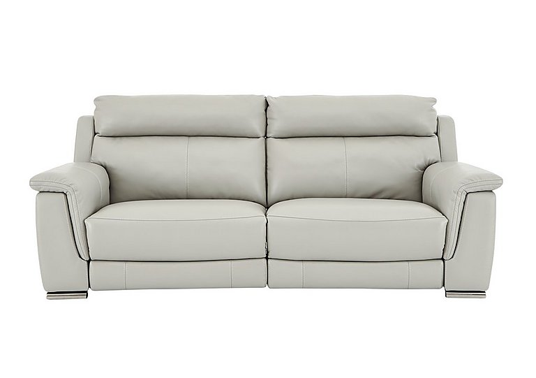 Glider 3 Seater Leather Recliner Sofa - Only One Left!