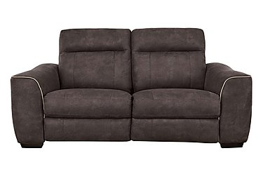Paloma 3 Seater Fabric Sofa - Only One Left! in Bfa-Raf-R21 Walnut on FV