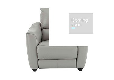 Trilogy Leather Recliner Armchair - Only One Left! in Nc-946b Feather Grey on FV