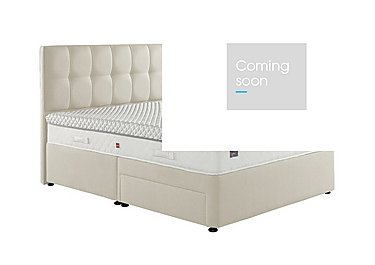 Bliss Divan Set in 6684 Almond on FV