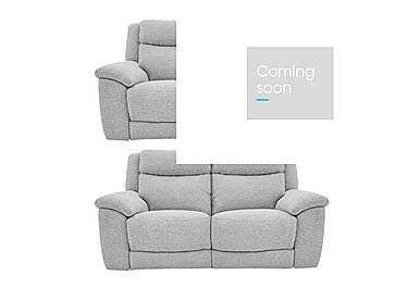 Bounce Pair of Fabric Power Recliner Sofas in Chl-R21 Chilli Frost on FV