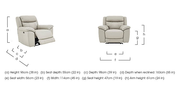 Bounce Leather 3 Seater Manual Recliner Sofa and Armchairs in  on FV