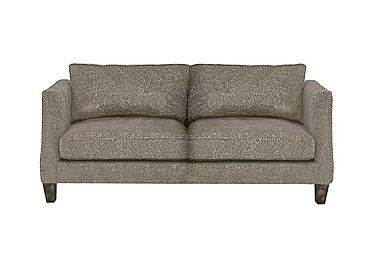 Genevieve 3 Seater Fabric Sofa in Garbo Mosaic Truffle Bg on FV