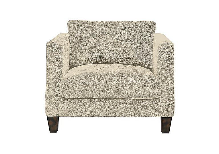 Genevieve Fabric Snuggler Armchair