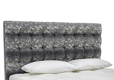 Fortnum Headboard in 7402-98101 Baroque Silver on Furniture Village
