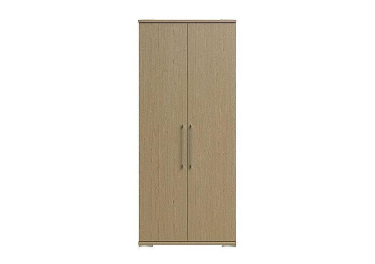 Amalfi 2 Door Wardrobe in Aoov Odessa Oak/Oak Woodgrain on Furniture Village