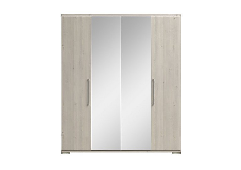 Amalfi 4 Door Centre Mirror Wardrobe