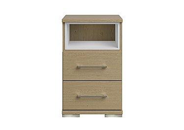 Amalfi 2 Drawer Nightstand in Aoov Odessa Oak/Oak Woodgrain on FV