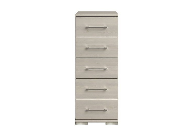 Amalfi 5 Drawer Narrow Chest