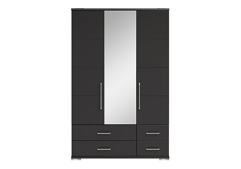 Cordoba 3 Door Centre Mirror Gents Wardrobe