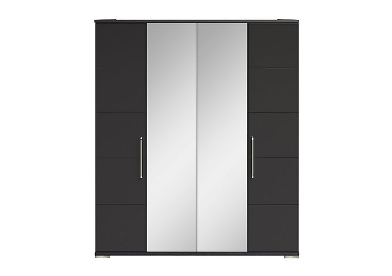 Cordoba 4 Door Centre Mirror Wardrobe