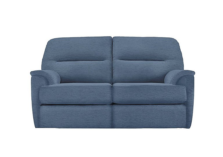 Watson 2 Seater Fabric Recliner Sofa in A086 Boucle Denim on FV