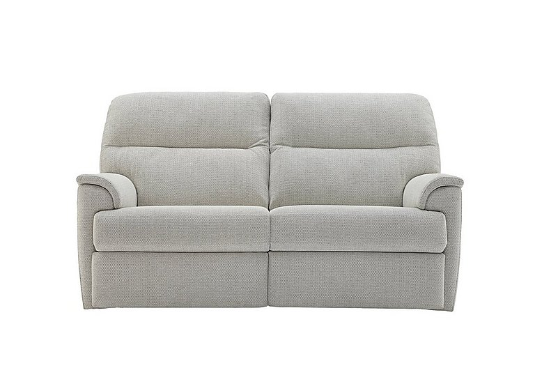 Watson 2 Seater Fabric Recliner Sofa in C293 Tango Ice on FV