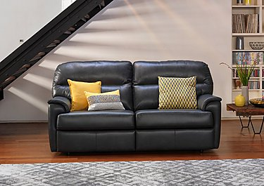 Watson 2 Seater Leather Recliner Sofa in  on FV