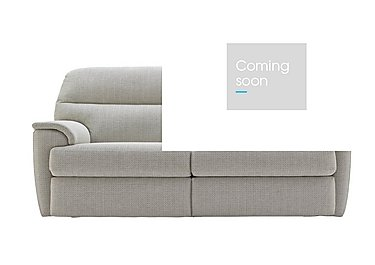 Watson 3 Seater Fabric Recliner Sofa in C293 Tango Ice on FV