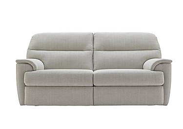 Watson 3 Seater Fabric Recliner Sofa in C293 Tango Ice on FV