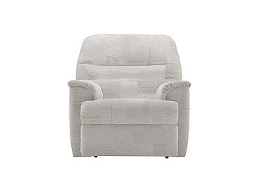 Watson Fabric Recliner Armchair in C008 Checkers Putty on FV