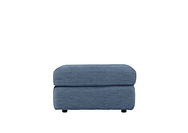Watson Fabric Storage Footstool in A086 Boucle Denim on FV