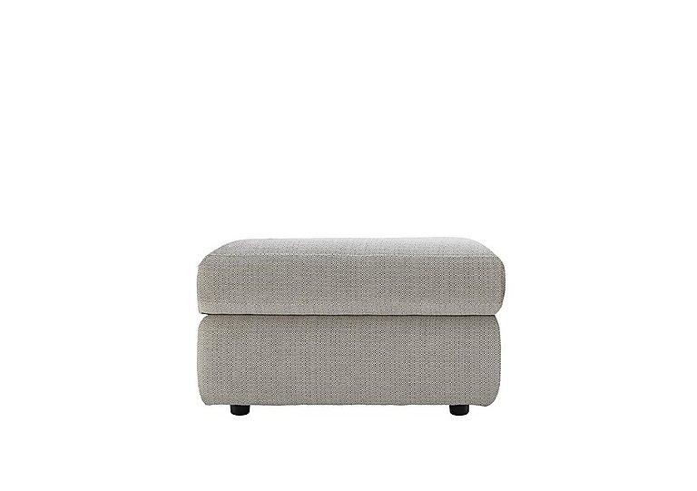 Watson Fabric Storage Footstool in C293 Tango Ice on FV