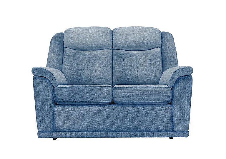 Milton 2 Seater Fabric Sofa in A086 Boucle Denim on Furniture Village