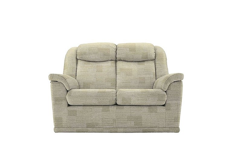 Milton 2 Seater Fabric Sofa in C112 Union Dove on FV
