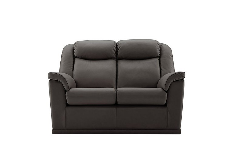 Milton 2 Seater Leather Sofa in N834 Dallas Slate on FV