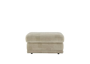 Milton Fabric Storage Footstool in C112 Union Dove on FV
