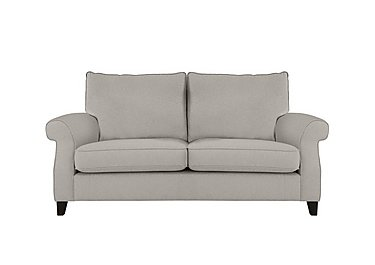 Sahara 2 Seater Fabric Sofa in Denbeigh Ercu Dark Feet on FV