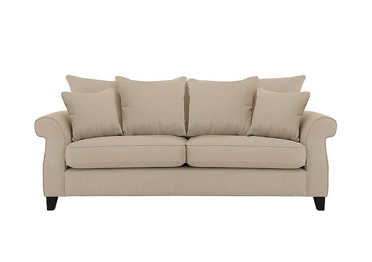 Sahara 3 Seater Fabric Pillow Back Sofa