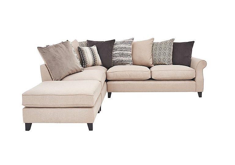 Sahara Fabric Corner Sofa in Hayden Beige Df on FV