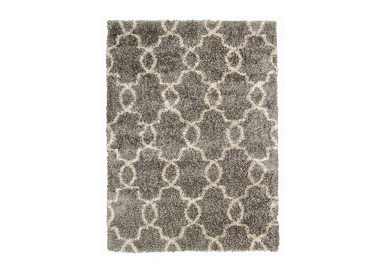 Elton Rug in Silver on FV