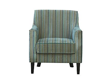 Baxter Fabric Armchair - Only One Left! in Teal on FV