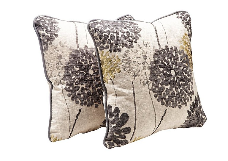 Tangier Pair of Scatter Cushions - Only One Left! in Sunburst Grey on FV
