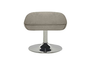 Sanza Fabric Footstool in Bfa-Raf-R946 Silver Grey on FV