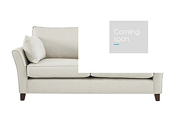 High Street Bond Street 4 Seater Fabric Sofa in Denbigh Ecru on FV