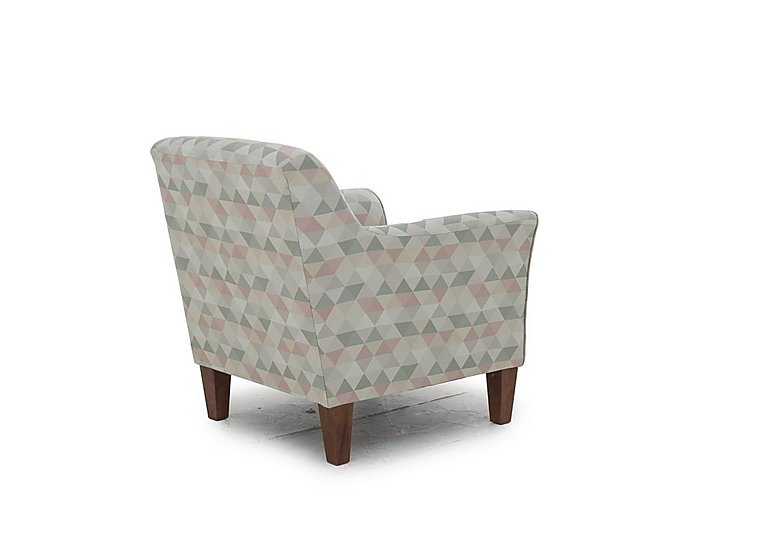 high street fabric accent armchair