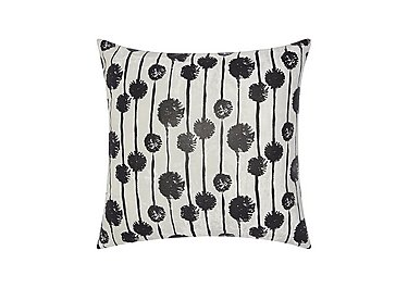 Dandelions Cushion in Black on FV
