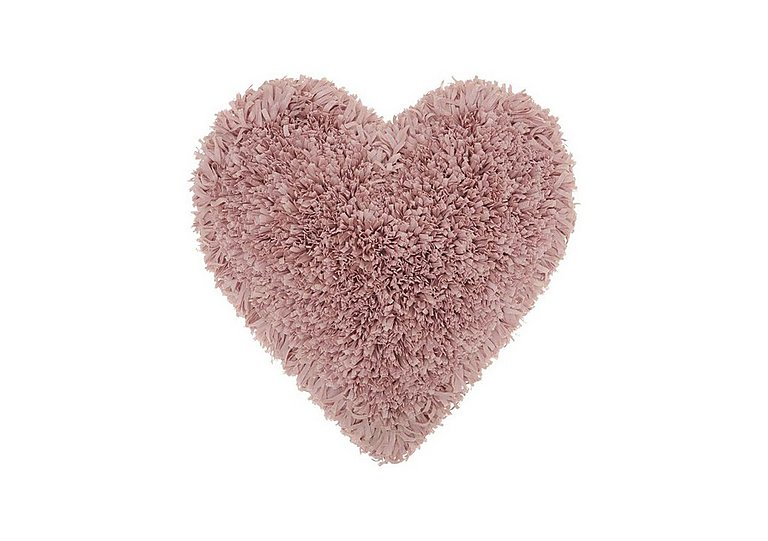 Heart Cushion in Rose on FV