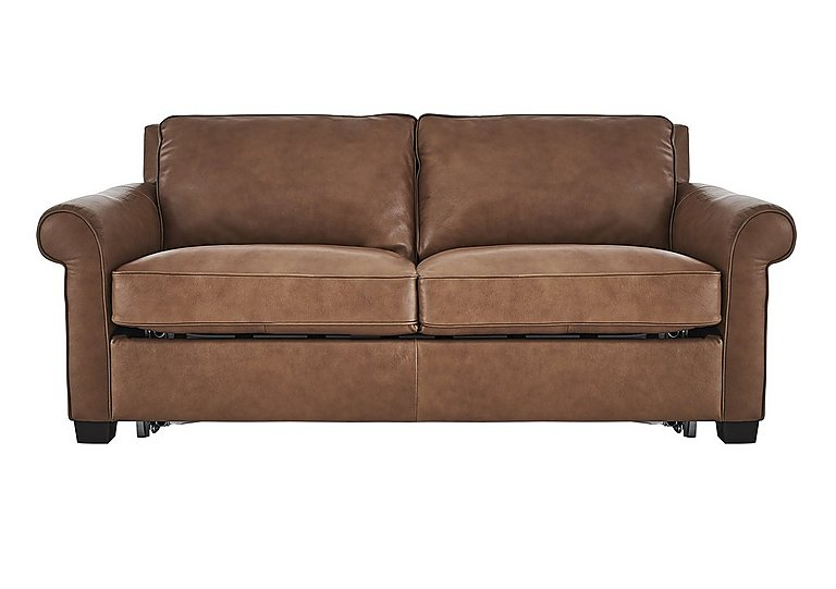 Campania 3 Seater Leather Sofa Bed  Only One Left!