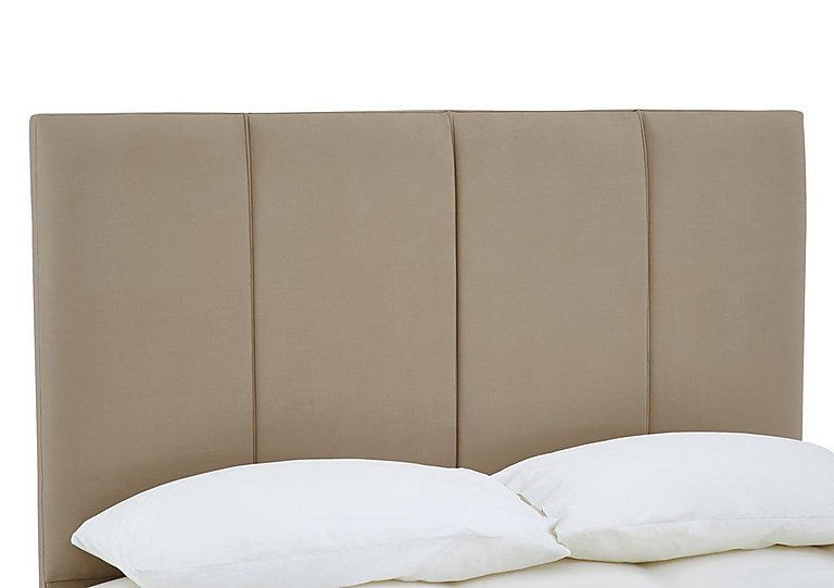 Cavendish Headboard in Sapore Camel on FV
