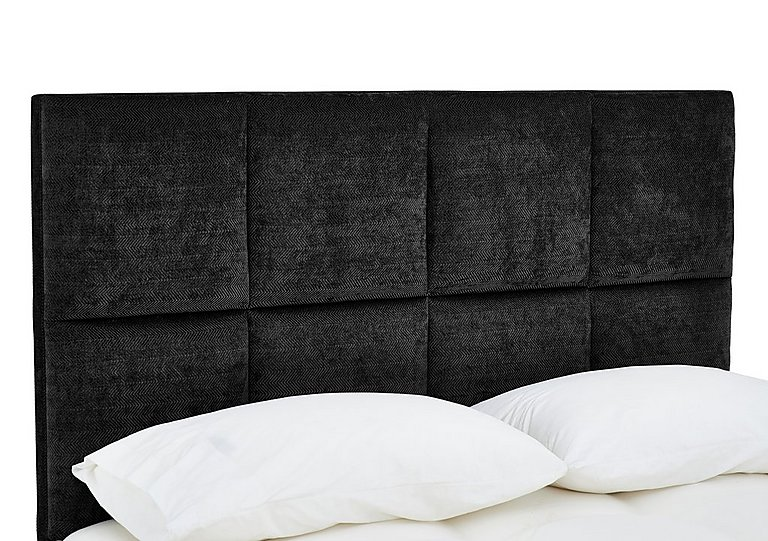 Sanderson Headboard in Orchidea Black on FV