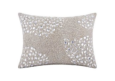 Beaded Cushion Silver in Silver on FV