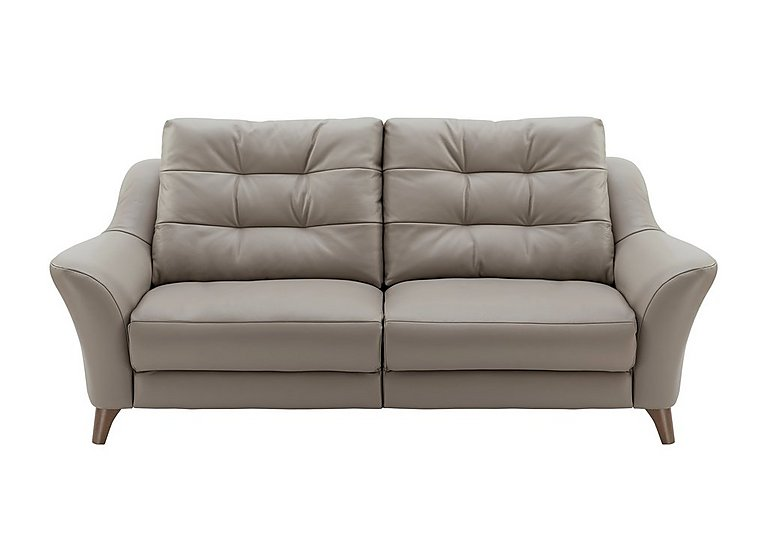 Pip 3 Seater Leather Recliner Sofa