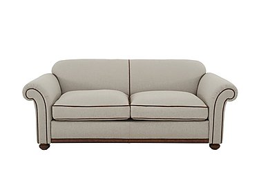 Texas 3 Seater Fabric Sofa Bed in 20522 Light Grey on FV