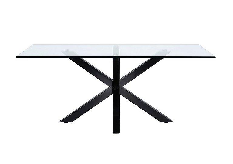 Evoque 200cm Dining Table in Matt Black on FV