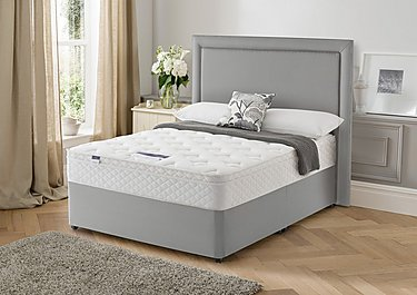 Miracoil Serenity Memory Cushion Top Divan Set in  on FV