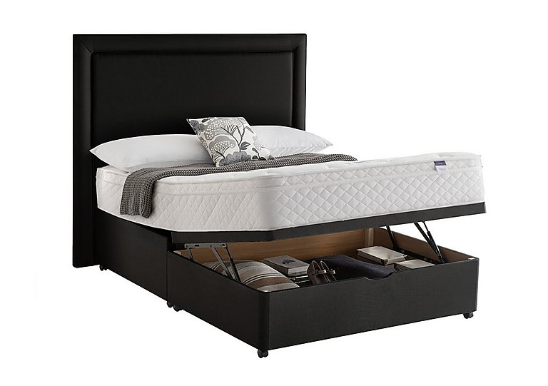 Silentnight Miracoil Serenity Memory Cushion Top Half Ottoman Divan Set for £899
